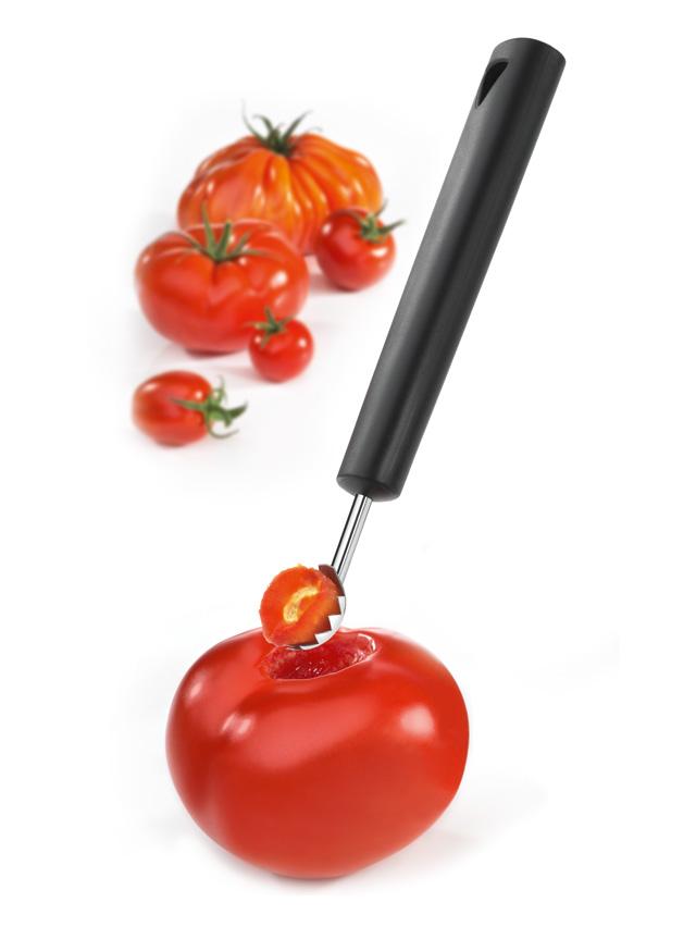 triangle Tomatenentstieler mit Tomaten