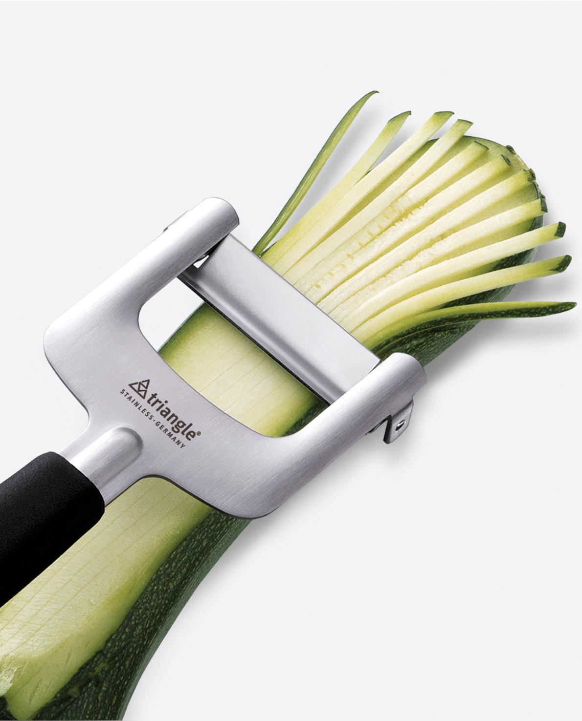 triangle julienne cutter cutting zucchini