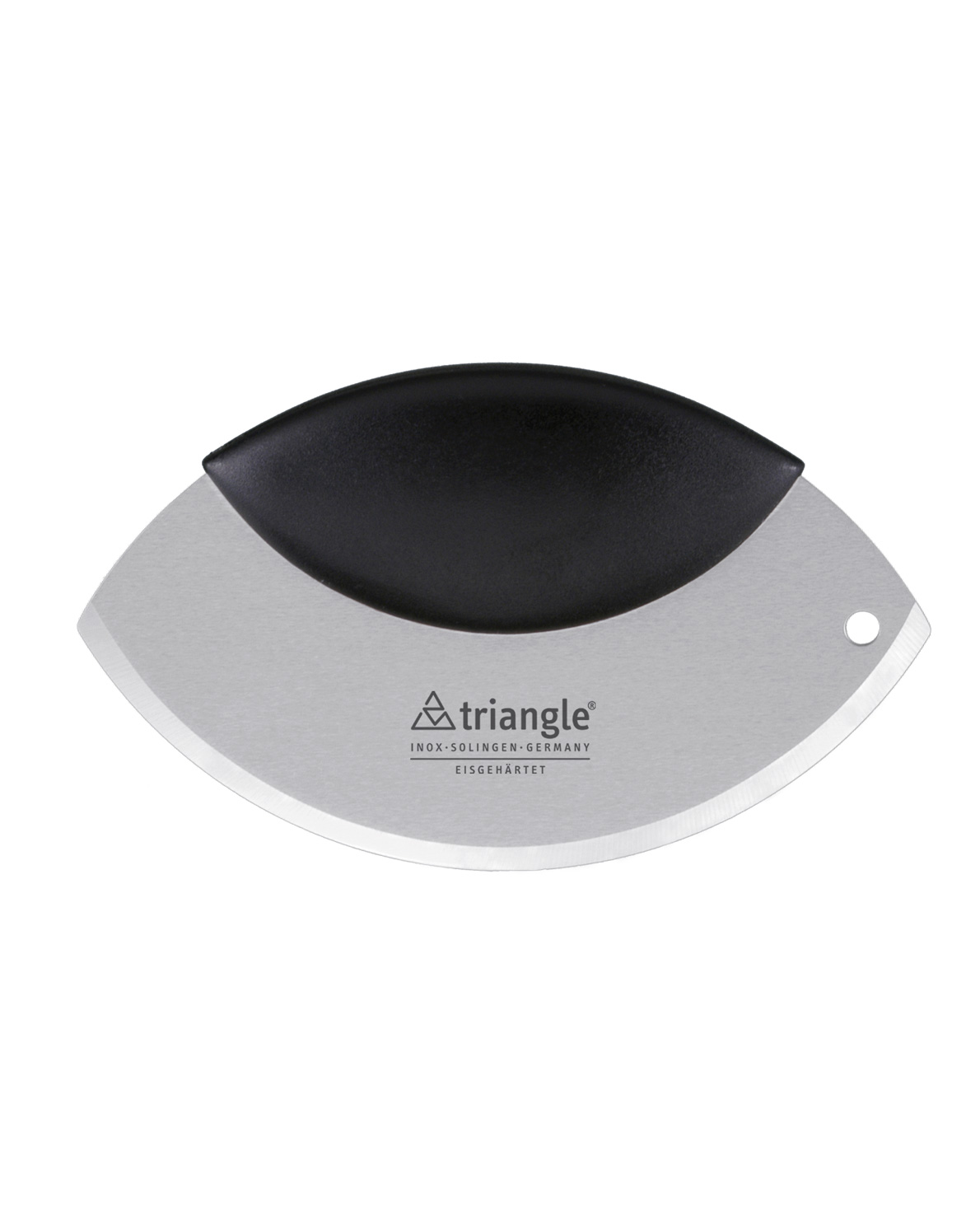 triangle Einhandwiegemesser Wiegemesser Kräutermesser für eine Hand mit einer Hand