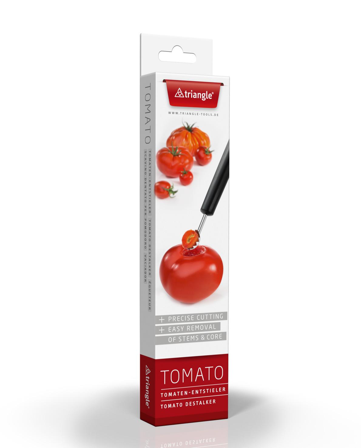 triangle Erdbeer Entstieler Tomaten-Entstieler aushöhlen Blattkelch entfernen
