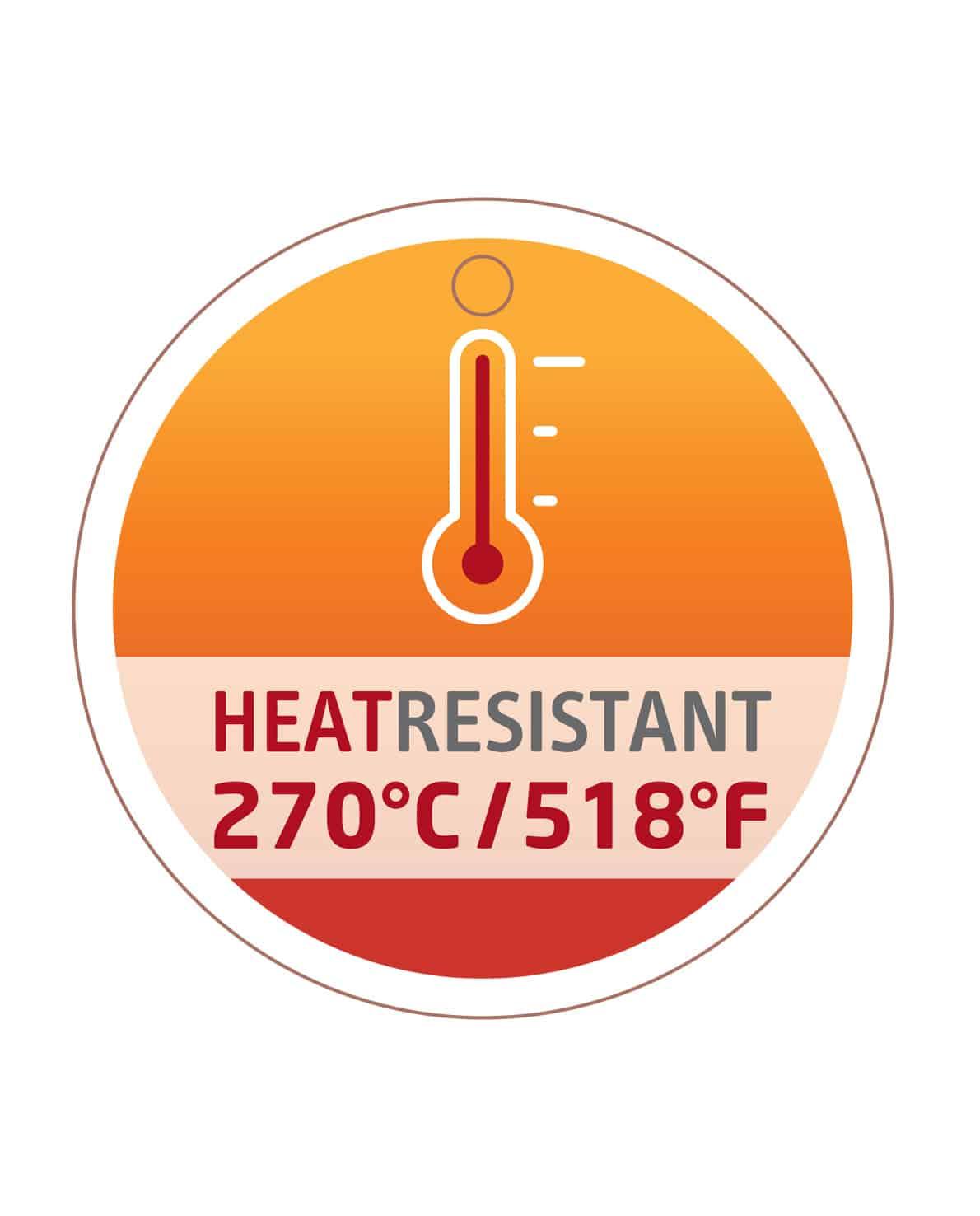 triangle Heat resistant 270° C