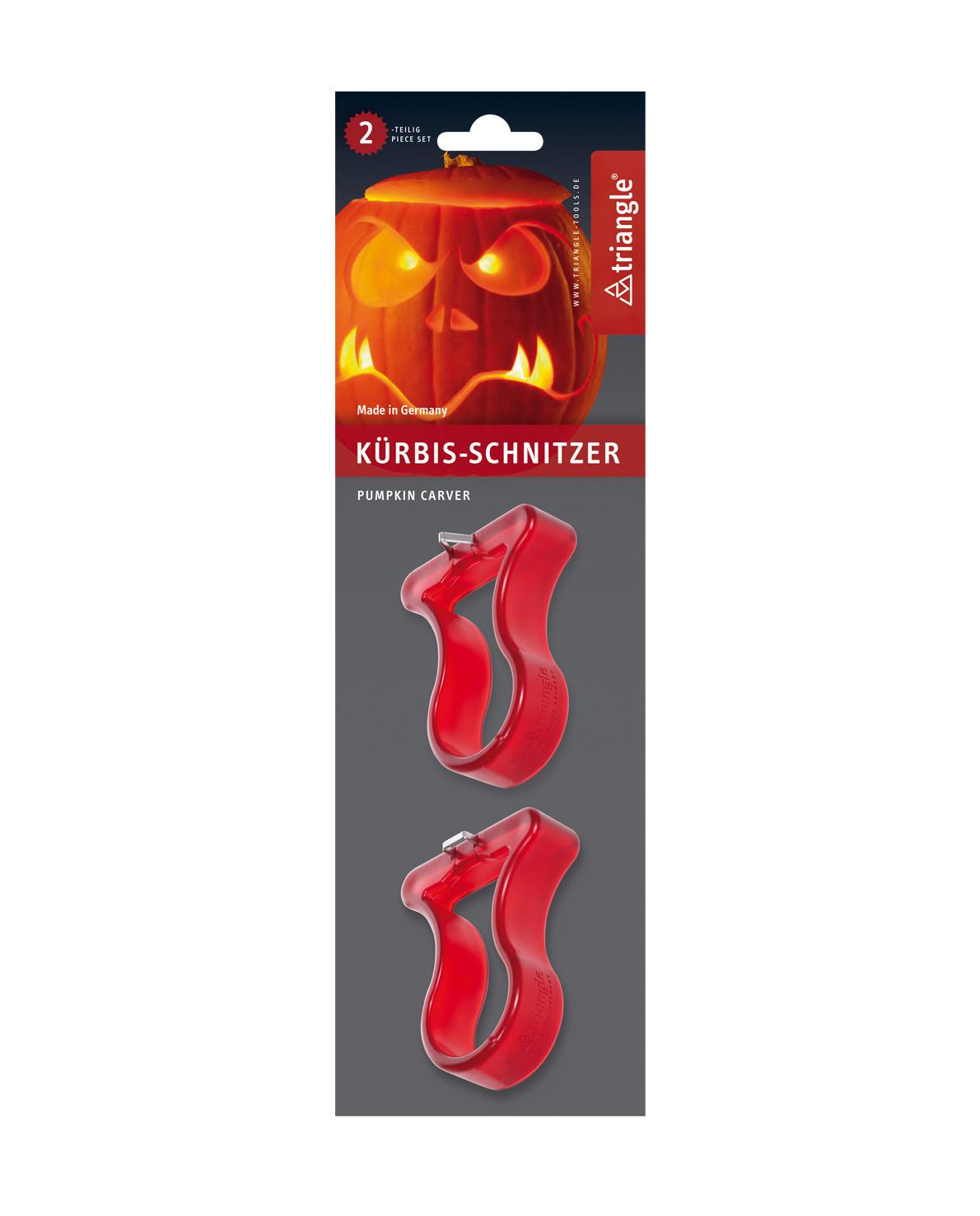 triangle Kürbis-Schnitzer-Set für oberflächliche Herbst-Dekorationen in Kürbis