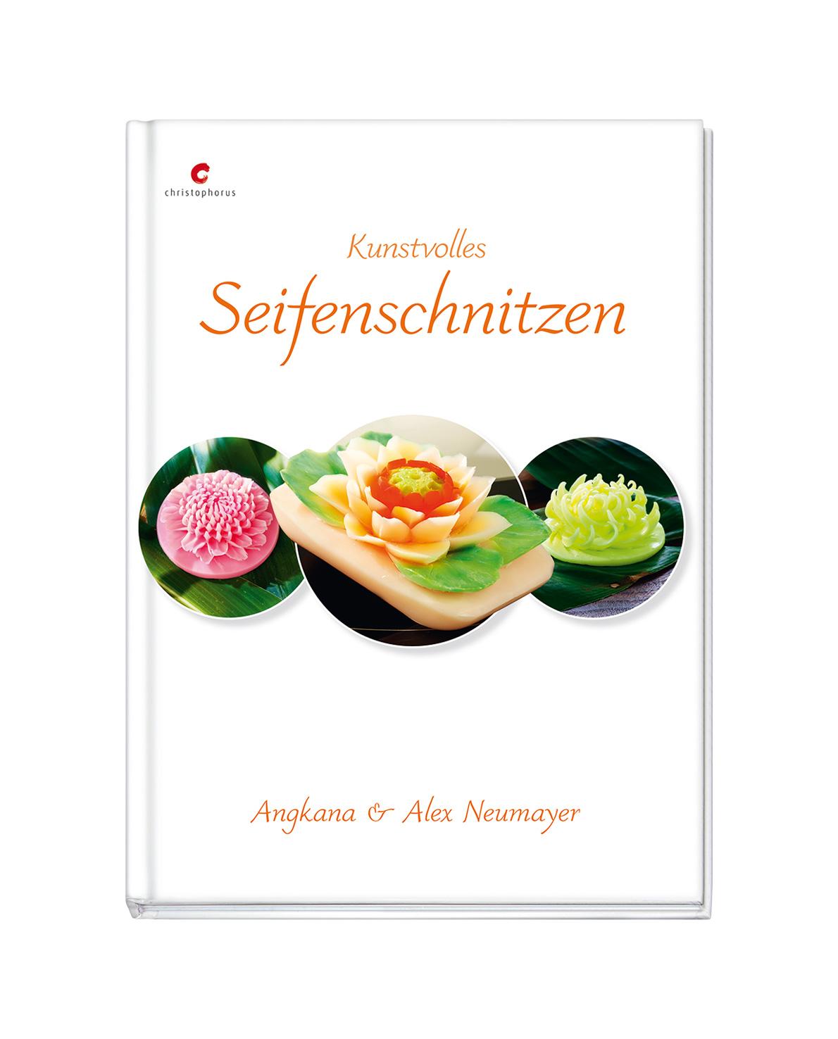 Buch Anleitung Kunstvolles Seifenschnitzen von Alex & Angkana Neumayer Carving
