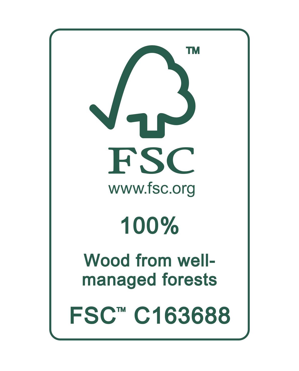 triangle FSC-Zertifikat